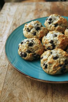 Blueberry Muffin Tops Recipe | Sarah's Cucina Bella