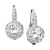 Eliot Danori Earrings, Cubic Zirconia (1-1/2 ct. t.w.) and Crystal Accent