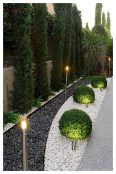 Front yard landscaping Small backyard landscaping Budget backyard Modern landscaping Backyard landscaping Backyard garden 36 Best Landscape Ideas To Get Inspiration Your Home Garden - Outdoor Lighting - Ideas of Outdoor Lighting Small Backyard Landscaping, Landscaping Ideas, Mulch Landscaping, Backyard Ideas, Patio Ideas, Modern Landscaping, Backyard Patio, Mulch Ideas, Mailbox Landscaping