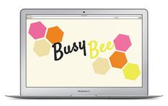 Busy Bee Tech Wallpaper {via Love. Luck. Kisses.