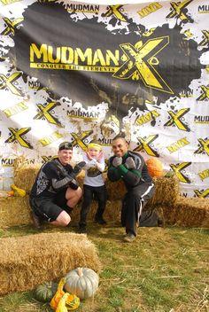 MudMan X Dirty Pumpkin Run with my two favorite guys