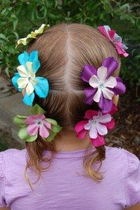 Must do flowers in the hair!