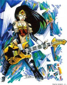Rock! Wonder Woman