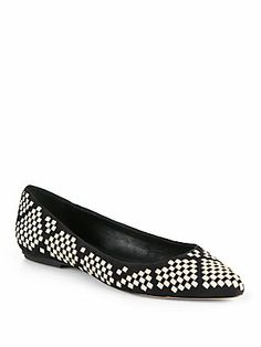 Rebecca Minkoff Idelle Woven Leather Flats