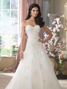 Style No. 214212 » David Tutera for Mon Cheri » wedding dresses 2014 and bridal gowns 2015