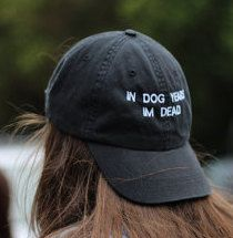 In Dog Years I'm Dead Hat by ThotTopicc on Etsy