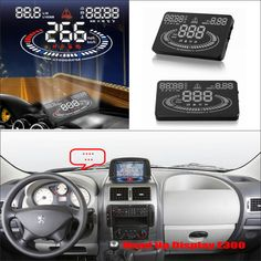 For Fiat Scudo / Peugeot Expert / Toyota ProAce Driving Screen Special Car HUD Head Up Display Projector Refkecting Windshield