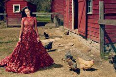 Katy Perry 首次登上《Vogue》時尚雜誌封面