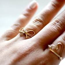 Rings Diy Recherche Google Wire Art Pinterest Wire Art - Cute diy wire rings for middle phalanges