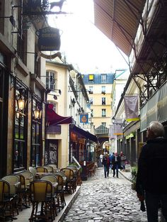 6th arrondissement - the charming Cour du Commerce Saint-André is a remnant of ancient Paris.