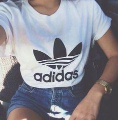 trefoil tee #adidas