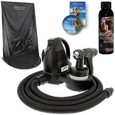 Other Sun Protection and Tanning: Belloccio T75 Sunless Airbrush Hvlp Spray Tanning System Opulence Curtain Tent -> BUY IT NOW ONLY: $121.99 on eBay!