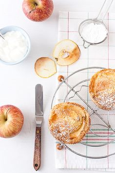 Apple Cardamom Cakes by tartelette, via Flickr