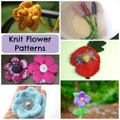 If you have a black thumb, knitted flowers are perfect for you: No watering required, and no wilting! Turn these knit flowers into bouquets for home decor, or attach them to sweaters, totes and accessories for an extra embellishment.