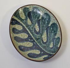 Mid Century Leaf Dish by Einar Johansen Denmark.