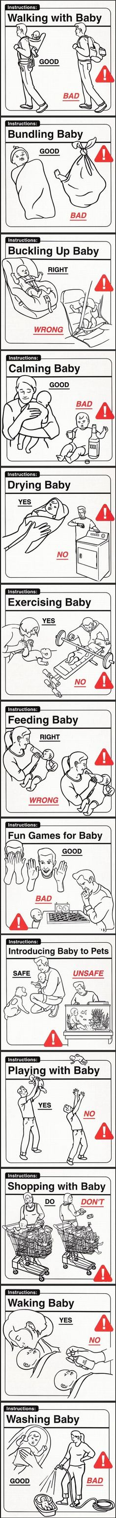 Proper Baby Care Strawn , just in case you didnt know lol Super Funny, Funny Cute, The Funny, Hilarious, Funny Work, Just In Case, Just For You, Funny Baby Pictures, Daily Funny