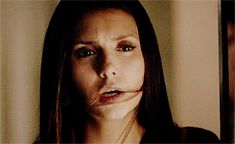 How dare you. You belong with Stefan!