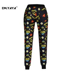 CMYAYA 2016 New Casual Black Print Cartoons Letters Men/Women/Girls/Boys Enjoy 50% Discount Jogger Pant at our web shop http://www.aliexpress.com/store/536244