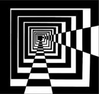 ideas for geometric art design optical illusions Illusion Kunst, Illusion Drawings, Optical Illusion Quilts, Best Optical Illusions, Black And White Quilts, Black White Art, Quilt Modernen, Geometric Art, Geometric Quilt