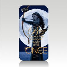 Once Upon A Time I Phone 5/5s Case Cover - Snow White - Full Moon - Believe