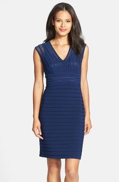 Adrianna Pappell Shutter Pleat dress@ Nordtsrom $99