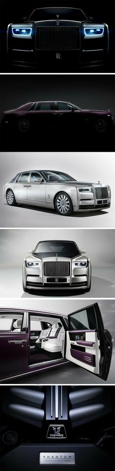 Ninety two years since it was first announced, the Rolls-Royce Phantom is the world's longest-lived model name in automotive history. Fourteen years since its last edition My Dream Car, Dream Cars, Supercars, Rolls Royce Cars, Rolls Royce Phantom, Car Engine, Performance Cars, Expensive Cars, All Cars