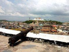 Fort St Jago from Elmina Castle