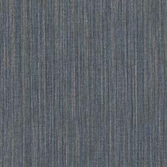 Warner Textures Derrie Vertical Stria Wallpaper Navy - 2741-6019, Durable