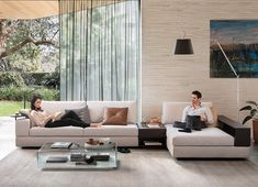 Discover the multi-award-winning Jasper modular sofa by King Living, the perfect sofa for open plan living rooms and growing families. Timber Shelves, King Furniture, Lounge Couch, Modular Lounges, Lobby Design, High Quality Furniture, Open Plan Living, Home Bedroom, Living Room Designs