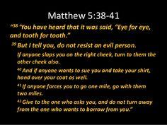 Matthew 5:39 - Google Search