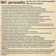 no doubt with a special goal in life for each of us with the infj personality. Listen to my infj! Infj Mbti, Intj And Infj, Enfj, Personality Profile, Infj Personality, Psychology Facts Personality Types, Myers Briggs Infj, Mental Health, Introvert