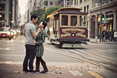 Romantic Vintage Engagement Photography Session in San Francisco