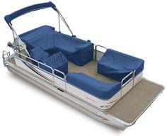Avalon pontoon boat seat covers. #pontoonboats #avalonpontoons