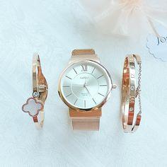 #Uhr in #roségold zum Verlieben. Sportlich elegant und vielseitig kombinierbar 👌