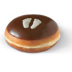Krispy Kreme Bite and Reveal doughnut