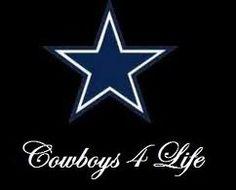 cowboys 4 life (black)