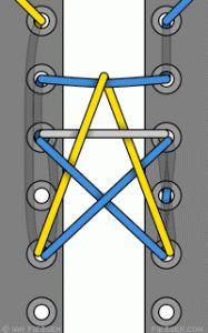 Bonus: How To Tie A Star! | 15 Cool Ways To Tie Shoelaces