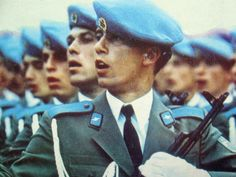 Paratroopers of the Bulgarian People`s Army.