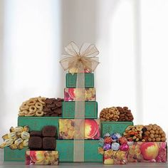 The Gift Basket Pros offering this quality All Occasion Gift Tower and other gifts at discounted prices. Assorted Nuts, Cocoa Cookies, Feeling Under The Weather, Get Well Soon Gifts, Chocolate Truffles, Gift Baskets, Birthdays, Tower, Snacks