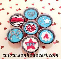 Cupcakes 15 anos! curta nossa página no Facebook: www.facebook.com/sonhodocerj