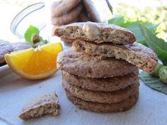 Una pincelada en la cocina: galletas ligeras de avena con naranja y avellanas