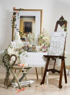 Rustic Garden Wedding Registration