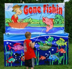Gone Fishing Carnival Game