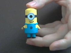How to make 3D Quilling Minion part1