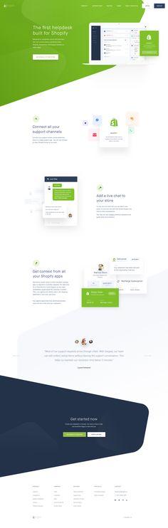 5 shopify page