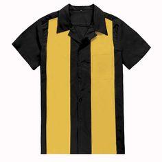 Black Plaid Shirt, Charlie Sheen, 1950s Style, Bowling Shirts, Plus Size Shirts, Men's Vintage, Party Shirts, Work Shirts, 1950s Fashion
