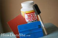 Steps to perfect Mod Podging 10 Simple Steps to perfect Mod Podging! A few great ideas that make such a Simple Steps to perfect Mod Podging! A few great ideas that make such a difference! Cute Crafts, Creative Crafts, Crafts To Make, Diy Crafts, Farm Crafts, Handmade Crafts, Crafty Craft, Crafty Projects, Diy Projects To Try