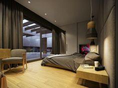 Une maison contemporaine aux couleurs automnales