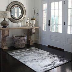 Grey Faux Fur Sheep Skin Shag Area Rug (5' x 7') (5x7), Size 5' x 7' (Polyester, Solid)