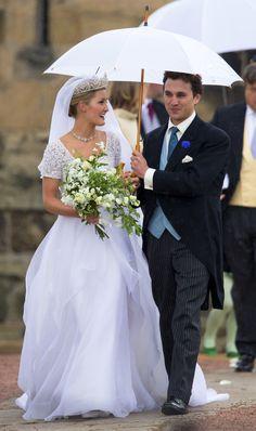 The Wedding Of Lady Melissa Percy and Thomas Van Straubenzee